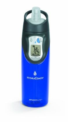 Calculates your personal hydration needs, tracks your consumption, paces you throughout the day and motivates you to stick to your goal. Find it on Amazon for $26