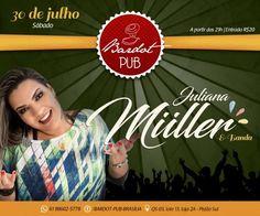 #VEJA Bardot Pub: Juliana Müller e Banda #agenda @paroutudo via ParouTudo http://ift.tt/2alMH6m #Raynniere #Makepeace