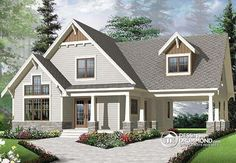 Full technical sheet and illustration of our house plan, garage plan, shed plan or playhouse. Various categories and house plans available for any budget. Beach House Plans, Cottage House Plans, Craftsman House Plans, Modern House Plans, Small House Plans, Craftsman Homes, Craftsman Style, Basement House Plans, House Floor Plans