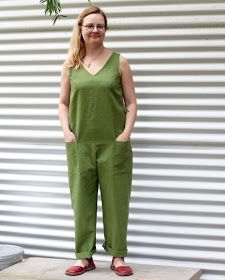 badd4f5fe46 THE DRAPERY  Pattern Review  In The Folds Jumpsuit (free pattern for  Peppermint Magazine)
