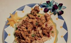 Jamaican Jerk Turkey Kabobs - Turkey thighs with loads of spices, like cumin, coriander, jalapeno, and allspice