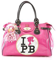 Pink Barbie Bag!  Maybe this is I Love Palm Beach!!! I buy it, don't you?