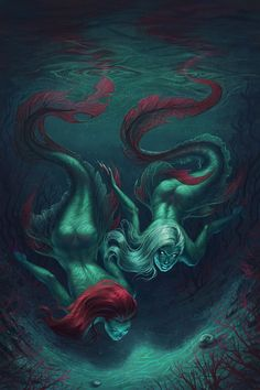 mermaidsarecoolerthanyou:  Dangerous by LilyFrozenHeart http://mermaidsarecoolerthanyou.tumblr.com/