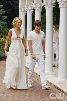 White dress - Blake Lively - Gossip Girl