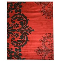 Shop for EORC Red Sofia Rug (7'10 x 9'10). Get free shipping at Overstock.com - Your Online Home Decor Outlet Store! Get 5% in rewards with Club O!