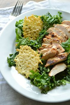 Copycat Panera Kale Chicken Caesar Power Salad Easy, healthy 30 minute meal! This recipe is great for busy weeknights or lunches on the go.