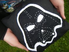 darth vader Felt Pillow