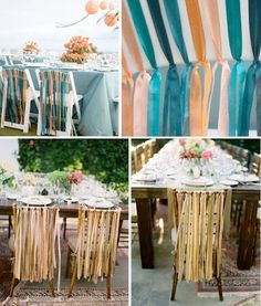 Inspiratie voor linten op jullie trouwdag