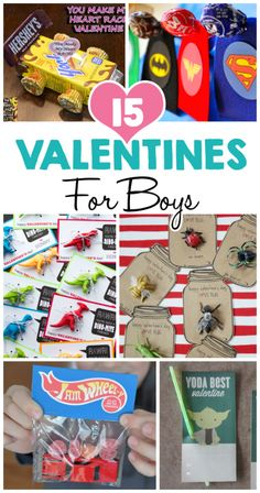 15 Valentine Ideas For Boys