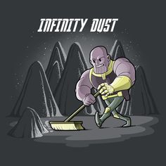 Marvel Avengers Infinity Dust T-Shirt