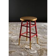 "Emery Dipped Gold Leaf 24"" Counter Stool - Safavieh® : Target"