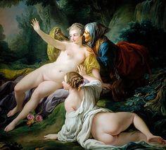 Vertumnus and Pomona by François Boucher (1740).jpg