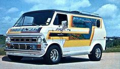 """I was less than 10 years old when the """"Van Craze"""" hit in the '70s...I thought they were cool then, and I guess I still do..."""