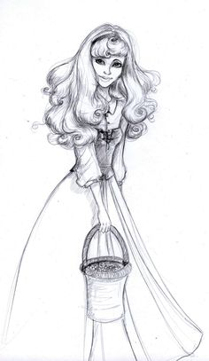 princess aurora.  She used to be my favorite Disney princess.  That is until there was Rapunzel.
