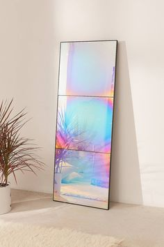 Shop Rainbow Iridescent Headboard at Urban Outfitters today. We carry all the latest styles, colors and brands for you to choose from right Shiny Things That Will Turn Your Life into an Iridescent DreamscapeMetal Wall Art Home DecorationLocal