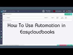 How to use Automation on Easycloudbooks ?