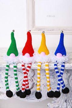 Crochet Elf Ornament