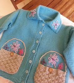 Ravelry: Jill pattern by Martin Storey Knitting For Kids, Baby Knitting Patterns, Crochet For Kids, Baby Patterns, Crochet Baby, Baby Overall, Baby Girl Sweaters, Knitted Baby Cardigan, Baby Bunting