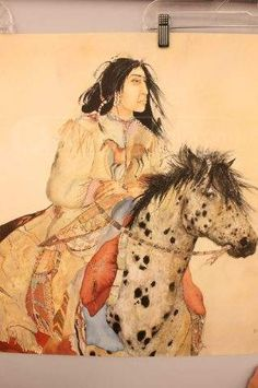 shopgoodwill.com: Brave Horse Print by Carol Grigg