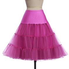 Tutu Skirt Silps swing Rockabilly Petticoat Underskirt Crinoline fluffy  pettiskirt for Wedding Bridal Retro Vintage Women Gown 65a0cf71a5d3