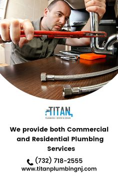 A plumber in Parlin NJ tackles commercial & residential types of plumbing issues.