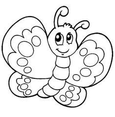 Risultati immagini per farfalle da colorare