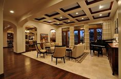 white-coffered-false-ceiling-designs-for-living-room-from-wood-and-plastic