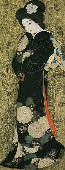 Japanese Art and Literature Japanese Prints, Japanese Design, Geisha Art, Japan Painting, Art Asiatique, Art Japonais, Japanese Geisha, Japan Art, Japanese Culture
