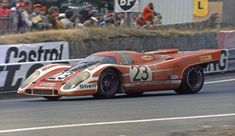 Happy 74th b day to Richard Attwood, seen here taking first #LeMans win for #Porsche in 1970 in Salzburg 917.
