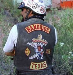 Members of the Bandidos motorcycle club gathered for their annual business meeting at a private campground on Kane Creek Blvd. this weekend. More than 500 Bandidos roared into Moab over four days. Local police reported few problems during the Bandidos stay, and area business owners said the motorcycle club members were polite and respectful. Photo by Karla Prudent