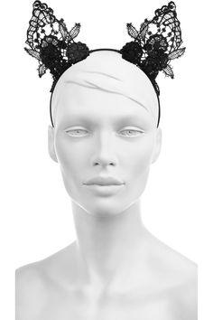 Mimi Holliday by Damaris- Lace cat ear headband