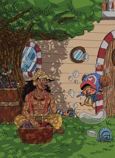Usopp et chopper Manga Anime One Piece, Chica Anime Manga, Kawaii Anime, Anime Art, One Piece Funny, One Piece Comic, One Piece Fanart, One Piece Crew, One Piece World