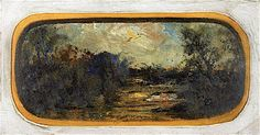 Twilight Landscape | Louis M. Eilshemius | oil painting