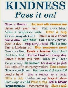Kindness Pass it on love life quotes quotes positive quotes quote life quote kindness inspiring