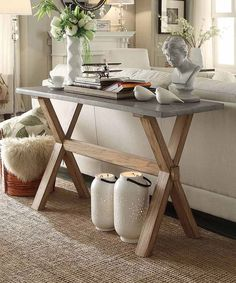 Westbrook Zinc Topped Console Table - Inspire Q : Target Decor, Table, Furnishings, Home Deco, Interior, Home Decor, Home And Living, Oak Sofa, Furniture