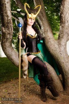 Sexy Loki Girl Cosplay
