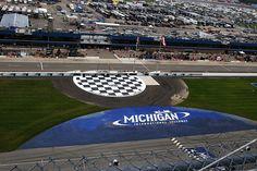 Nascar Race Tracks, Nascar Racing, Baseball Field, Michigan, Basketball Court