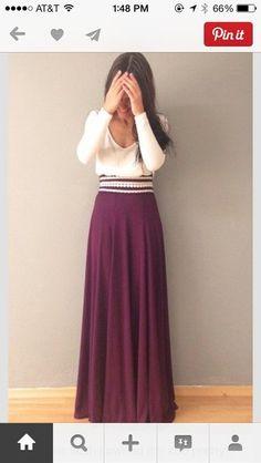skirt red , beads, long dress