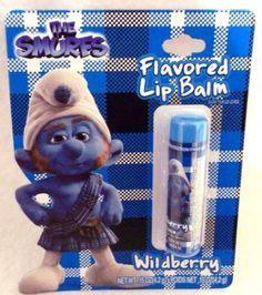 Amazon.com: Lip Balm Wildberry - Flavored Lip Balm, 0.15 oz,(The Smurfs): Health & Personal Care