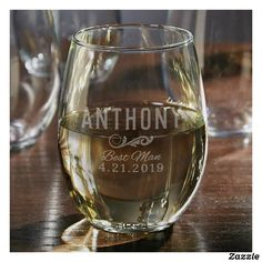 Oakmont Stemless Custom Engraved Wine Glass - Perfect for Wine Lovers, Personalized Wine Glass, Etched Wine Glass, Wine Enthusiast Gift Gifts For Wine Lovers, Best Gifts For Men, Wine Gifts, Best Wine Clubs, Glass Engraving, Stemless Wine Glasses, Groomsman Gifts, White Wine, Wine Delivery