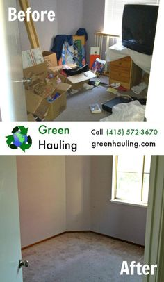 Got junk? We can haul it away and you don't even have to lift a finger! Green Hauling is an eco-friendly junk removal service located in the Bay Area. Give us a call today at (415) 572-3670 and get rid of that junk once and for all.