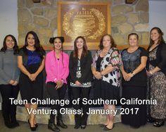 Teen Challenge of Southern California graduates, Ventura Class, January 2017.