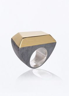 Metallic Stone Ring – Gonzalo Palma Store - Contemporary Jewelry Design