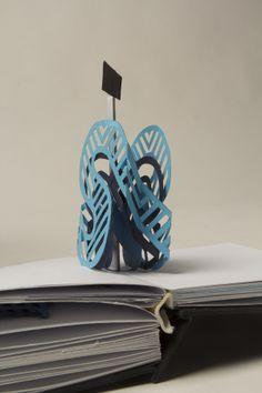 pop up book by Enci Bognár, via Behance Up Book, Ceramic Design, Pop Up Cards, Kirigami, Book Making, Paper Art, Popup, Lacoste, Books