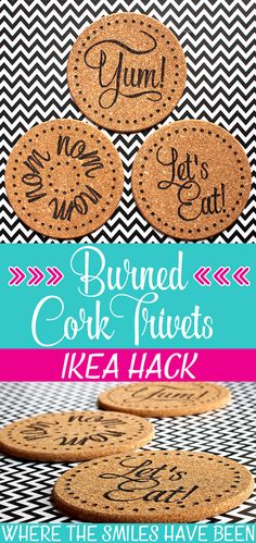 DIY Burned IKEA Cork