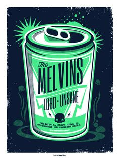 GigPosters.com - Melvins - Lord - Unsane