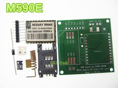 M590E GSM GPRS module Diy kits M590 GSM GPRS 900m-1800m sms CPU MCU test Second-hand #Affiliate