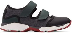 Marni - Multicolor Felted Sneakers
