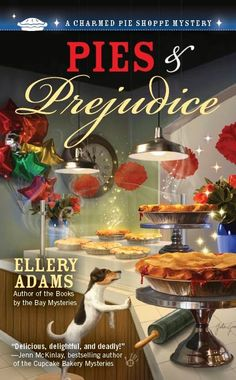 Fantastic new mystery series coming soon from Berkley Prime Crime by Ellery Adams--A Charmed Pie Shoppe Mystery