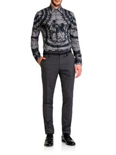Dolce & Gabbana Bull Fighter Tile Sportshirt save -55% today 15 Jun at SaksFifthAvenue Made from luxurious woven cotton this striking design showcases a Matador-inspired tiled pattern.